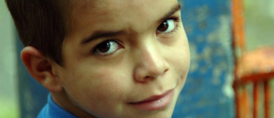 Child's face